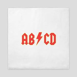 ABCD Queen Duvet