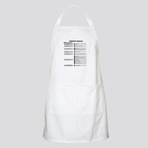 Baby Owner's Manual Apron