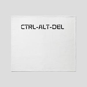 CTRL_ALT_DEL Throw Blanket