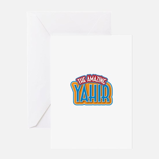 The Amazing Yahir Greeting Card