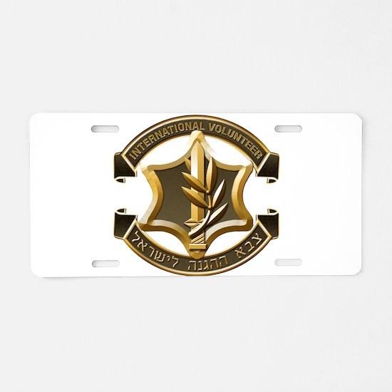 Cute Jew Aluminum License Plate
