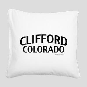 Clifford Colorado Square Canvas Pillow