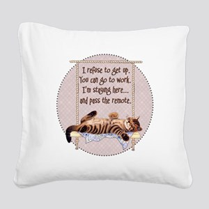My Cat - 2 Square Canvas Pillow