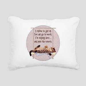 My Cat - 2 Rectangular Canvas Pillow