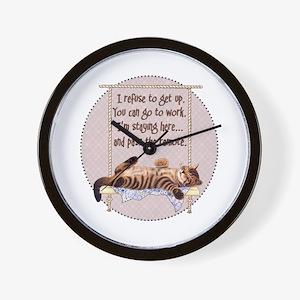 My Cat - 2 Wall Clock