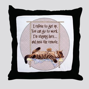 My Cat - 2 Throw Pillow