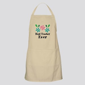 Best Teacher Ever Personalized Gift Light Apron