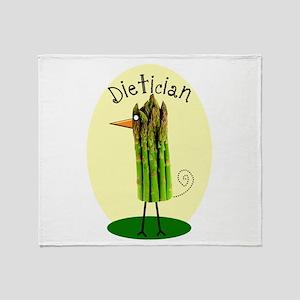 Dietician Bird 1 Throw Blanket