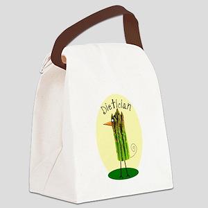 Dietician Bird 1 Canvas Lunch Bag