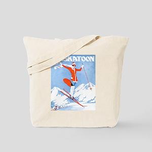 Saskatoon Sking Tote Bag