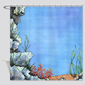 Mysterious Ocean Floor Shower Curtain