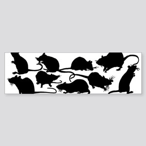 Lots Of Rats Sticker (Bumper)