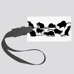 Lots Of Rats Large Luggage Tag