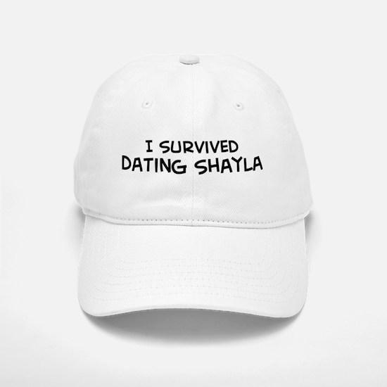 Survived Dating Shayla Baseball Baseball Cap