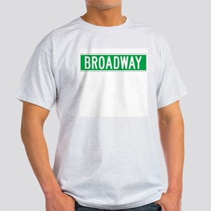 Broadway, New York - USA Ash Grey T-Shirt