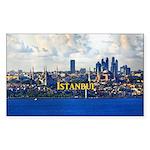 Istanbul Sticker (Rectangle 50 pk)