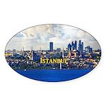 Istanbul Sticker (Oval 50 pk)