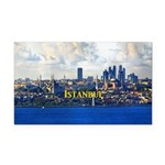 Istanbul Rectangle Car Magnet
