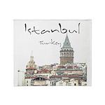 Istanbul Throw Blanket