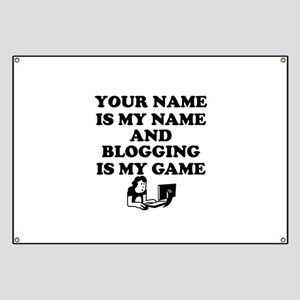 Custom Blogging Is My Game Banner
