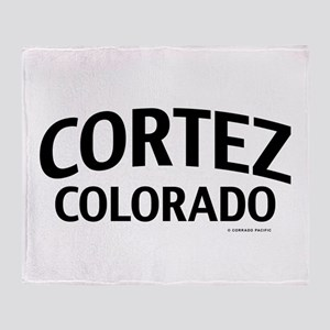 Cortez Colorado Throw Blanket