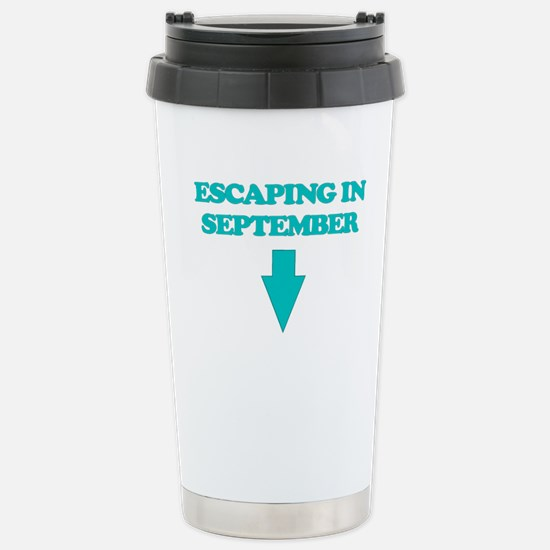 ESCAPING IN SEPTEMBER Travel Mug