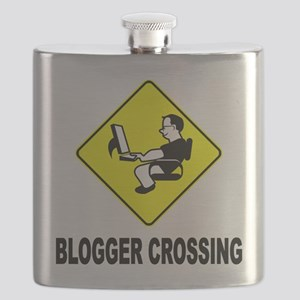 Blogger Crossing Flask