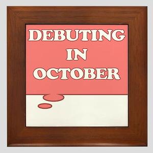 DEBUTING IN OCTOBER MATERNITY PINK TALK BUBBLE Fra