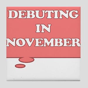 DEBUTING IN NOVEMBER MATERNITY PINK TALK BUBBLE Ti