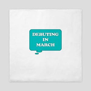 DEBUTING IN MARCH MATERNITY TALK BUBBLE Queen Duve