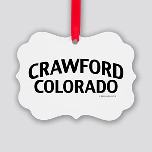 Crawford Colorado Ornament