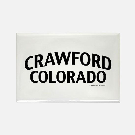 Crawford Colorado Rectangle Magnet