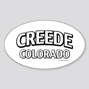 Creede Colorado Sticker