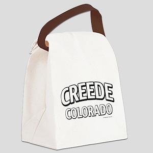Creede Colorado Canvas Lunch Bag