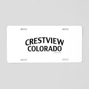 Crestview Colorado Aluminum License Plate