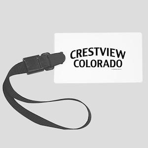 Crestview Colorado Luggage Tag