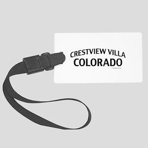 Crestview Villa Colorado Luggage Tag
