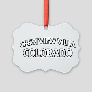 Crestview Villa Colorado Ornament