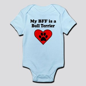 My BFF Is A Bull Terrier Body Suit