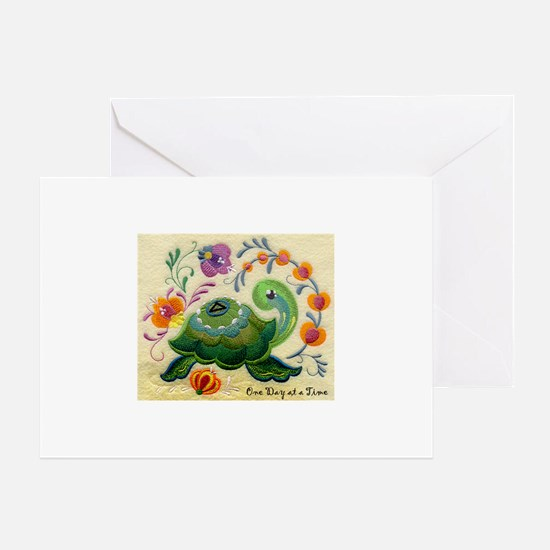 ODAT One day at a time Greeting Card