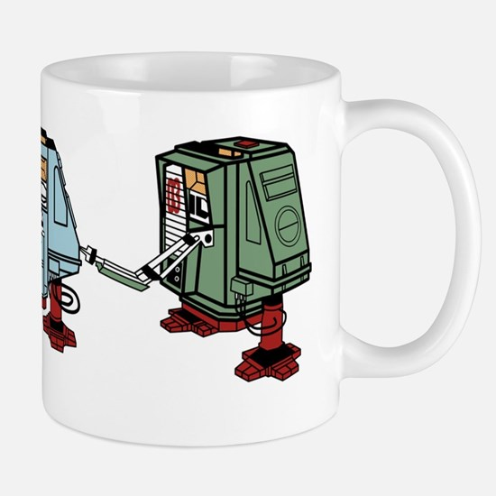 Silent Huey, Dewey and Louie Mug