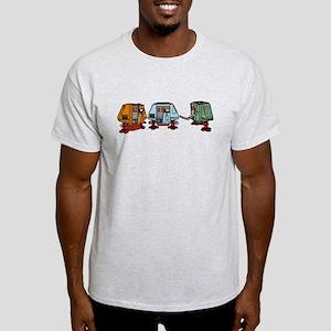 Silent Huey, Dewey and Louie Ash Grey T-Shirt