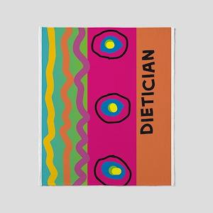 dietician FF 10 artsy Throw Blanket