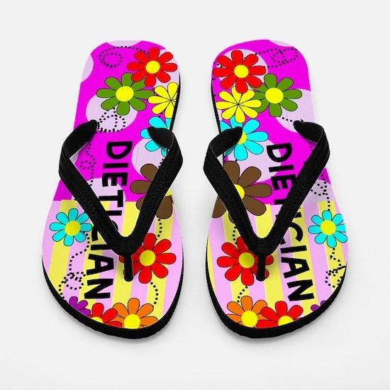 Dietician FF 8 floral Flip Flops