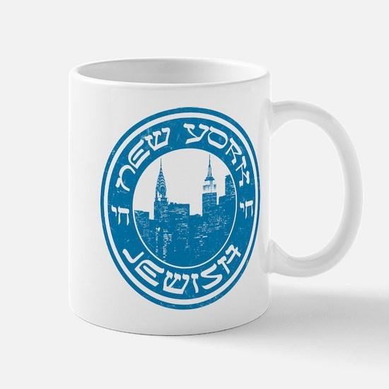New York Jewish American Mug