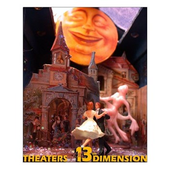 13th Dimension Small Poster