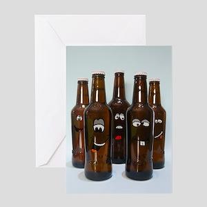 Birthday Beer Humor Greeting Card