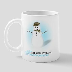 Not an Average Snowman Mug