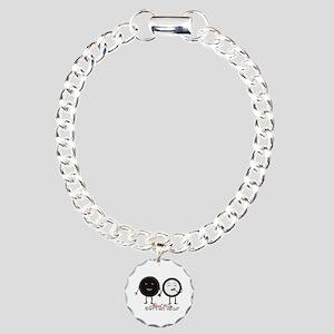 Cookie Couple Charm Bracelet, One Charm