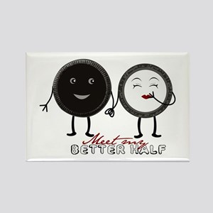 Cookie Couple Rectangle Magnet